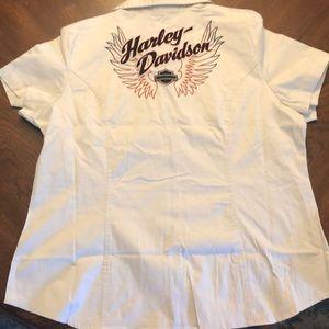 Harley Davidson women's Mechanics Shirt